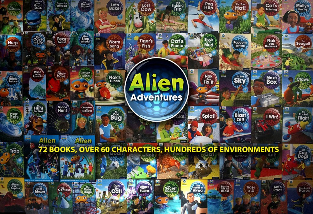 Alien adverntures books
