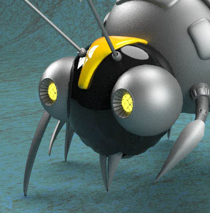 Cyberbee Mechanoid