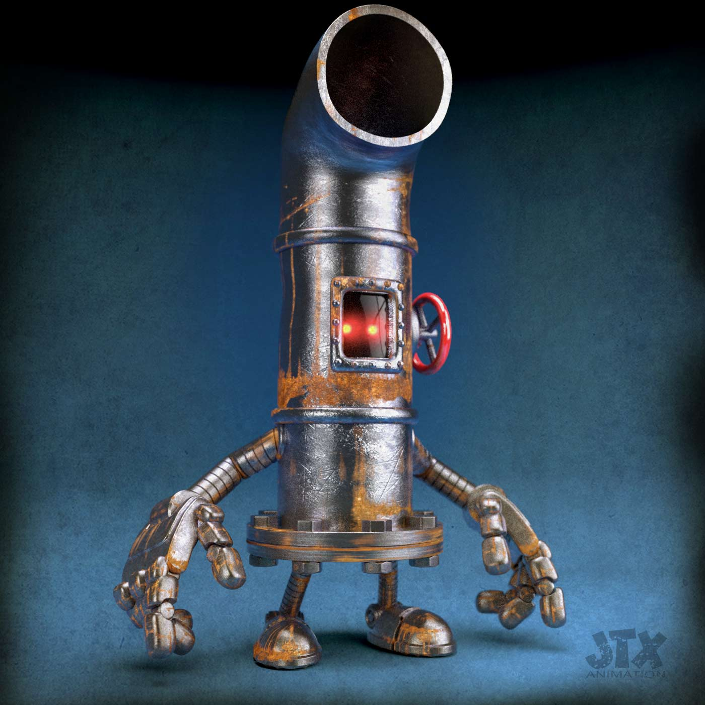 Pipe Boy Robot